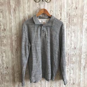 Marine layer grey pullover
